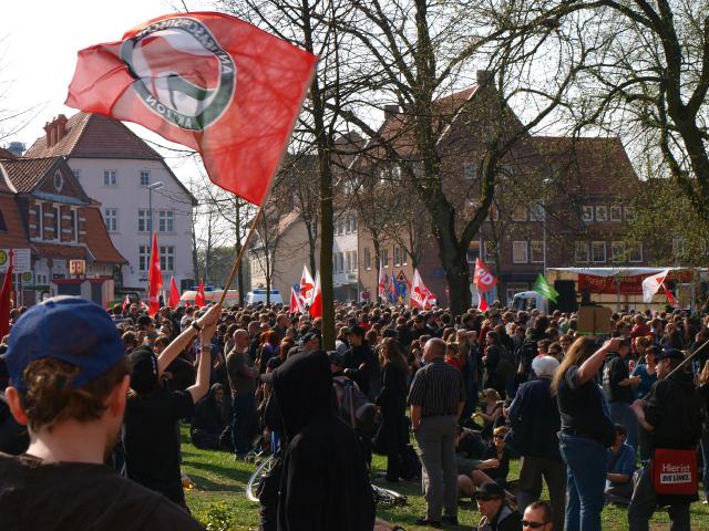 04. Antifa-Demo/Kundgebung