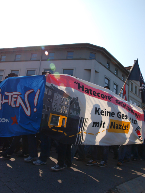 05. Antifa-Demo/Kundgebung