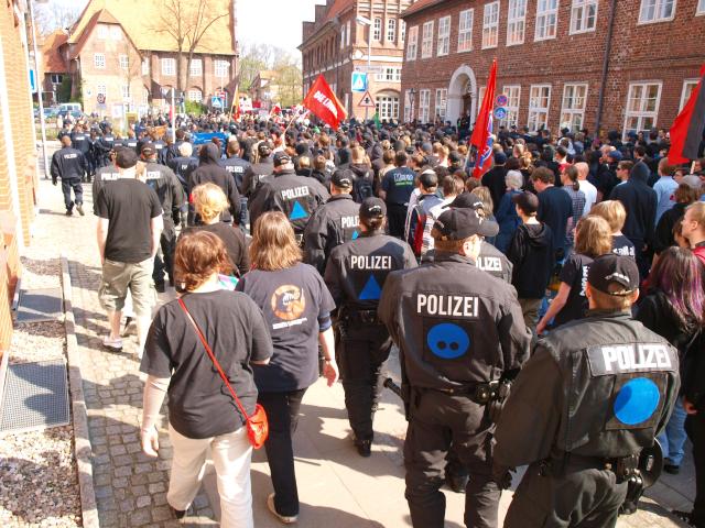 08. Antifa-Demo/Kundgebung